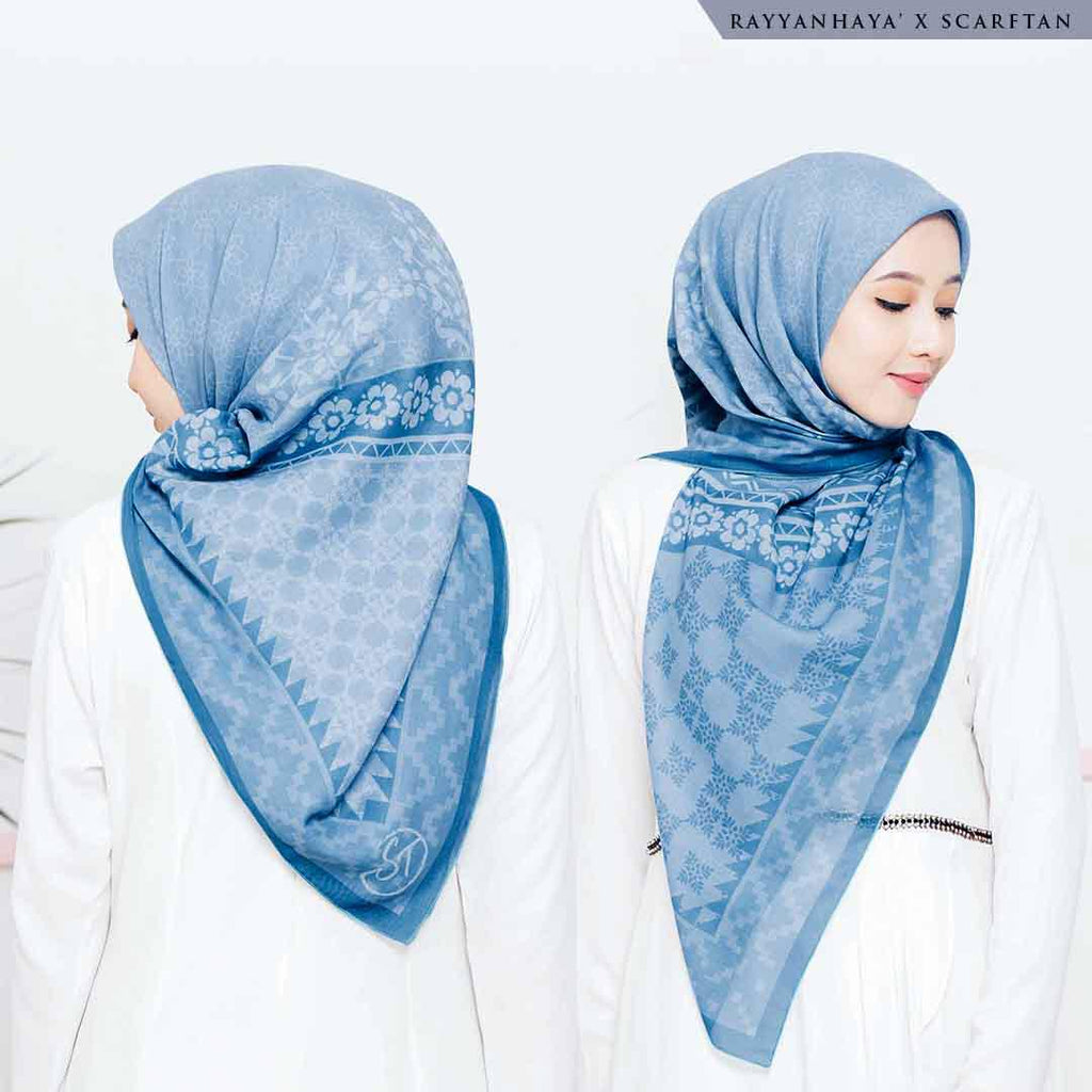 READY STOCK  Bawal Yasmin 130cm (Sky Blue)