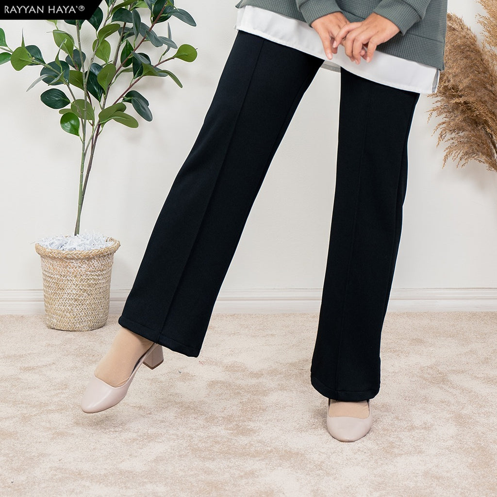 Loose Boot Cut Pants 4.0 (Black)