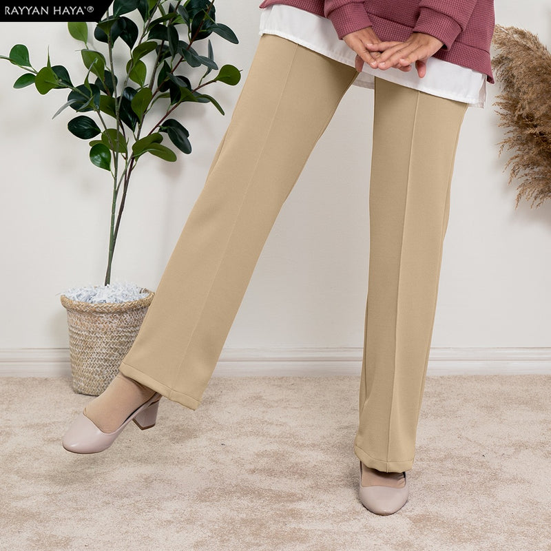 Loose Boot Cut Pants 4.0 (Sand)