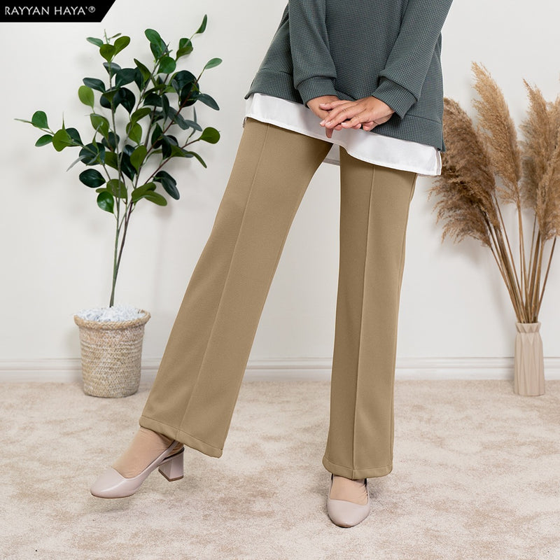 Loose Boot Cut Pants 4.0 (Nude)