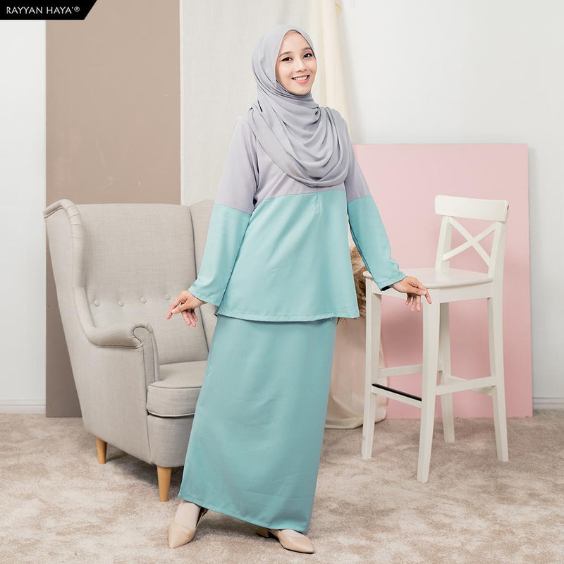 Rauda Set (Silver Sea Green)