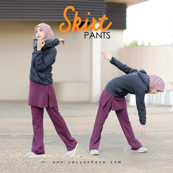 Skirt Pants (Purple)