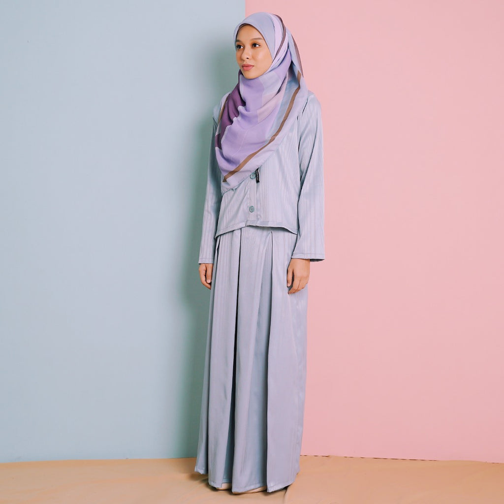 Deena Suit (Dusty Blue)