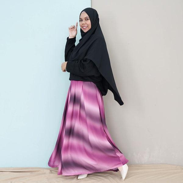 Ombre Skirt (Purple)