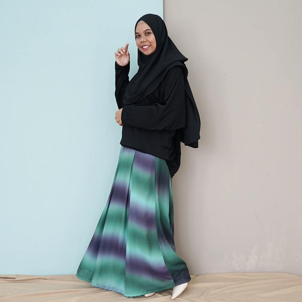 Ombre Skirt (Green)