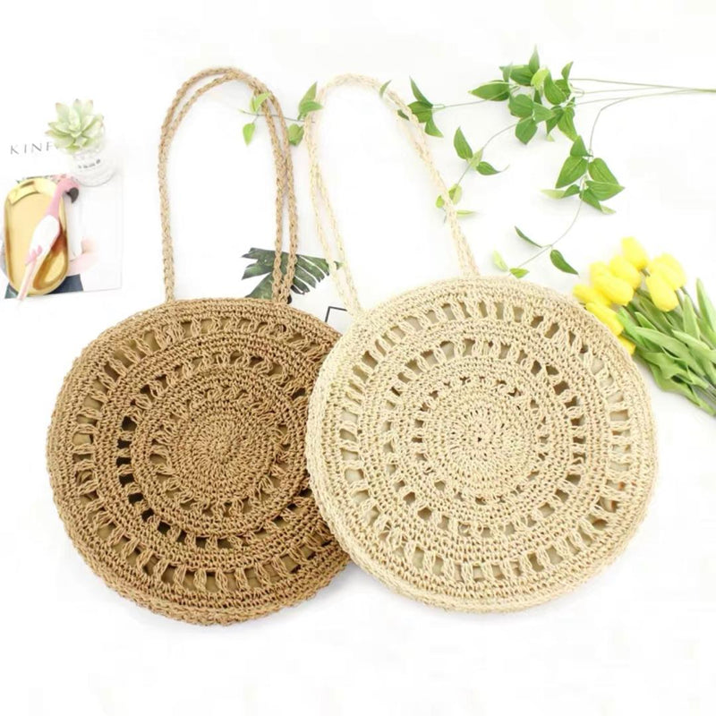 PRE ORDER Rattan Bag (Brown)