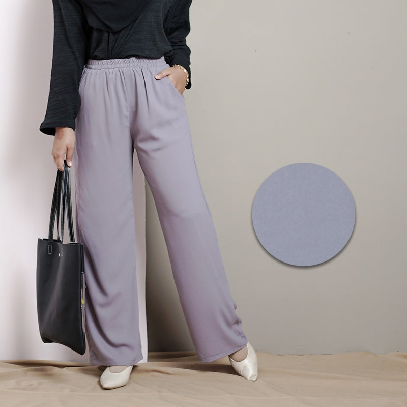 Culottes Pants 2.0 (Cool Grey)