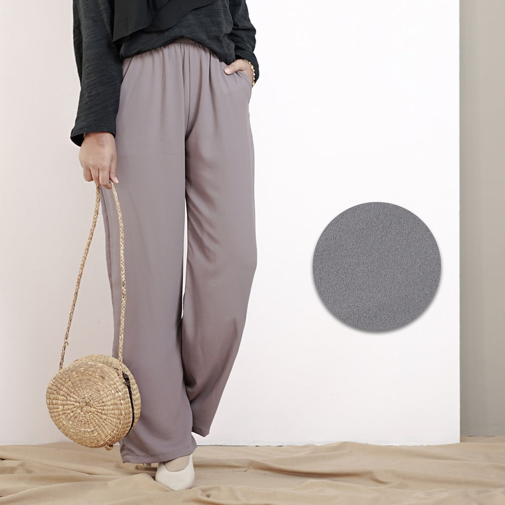 Culottes Pants 2.0 (Smoke Grey)