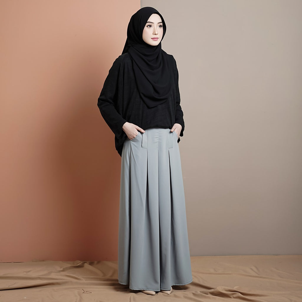 PRE ORDER Madelyn Skirt (Powder Blue)