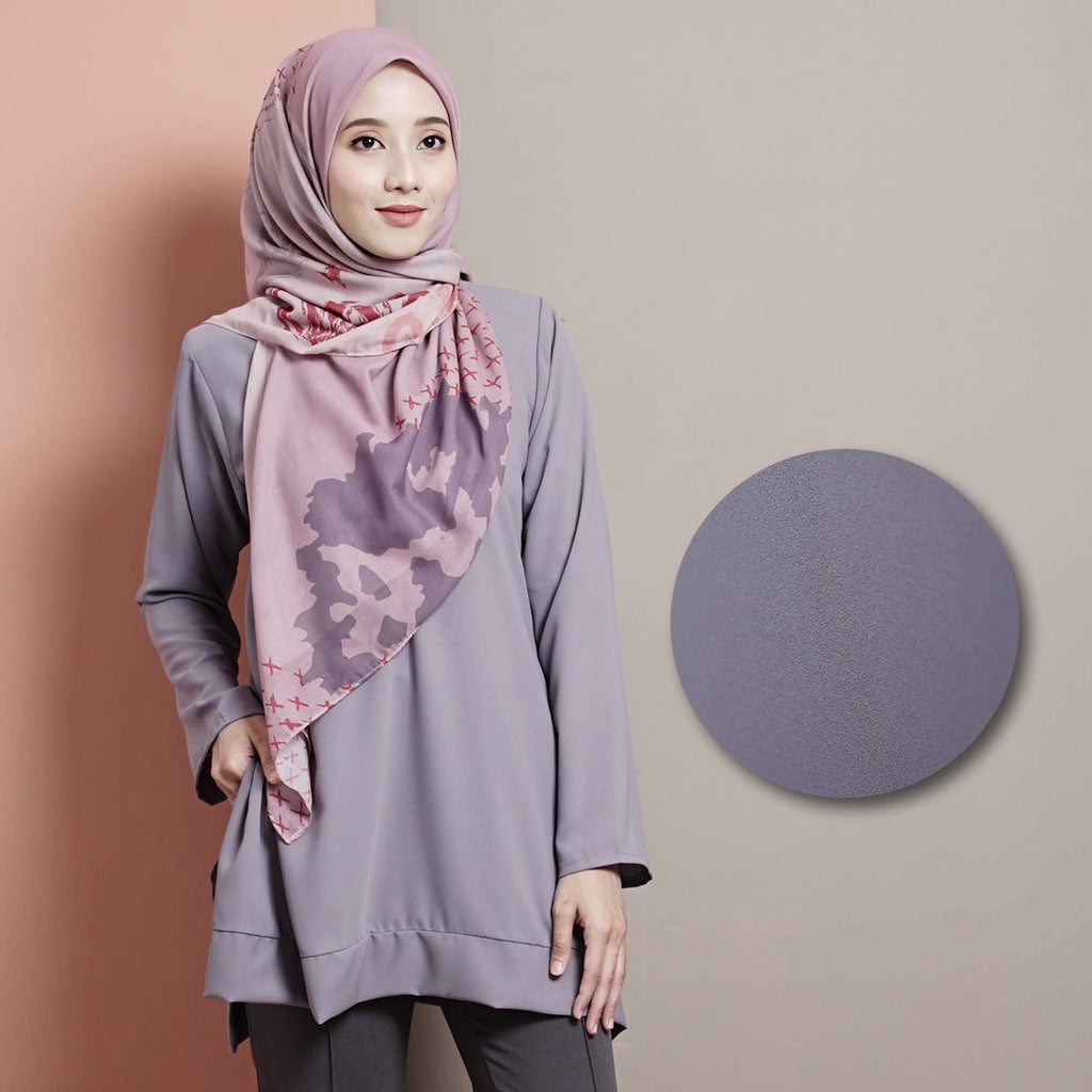 Rhea Top 13 (Cool Grey)