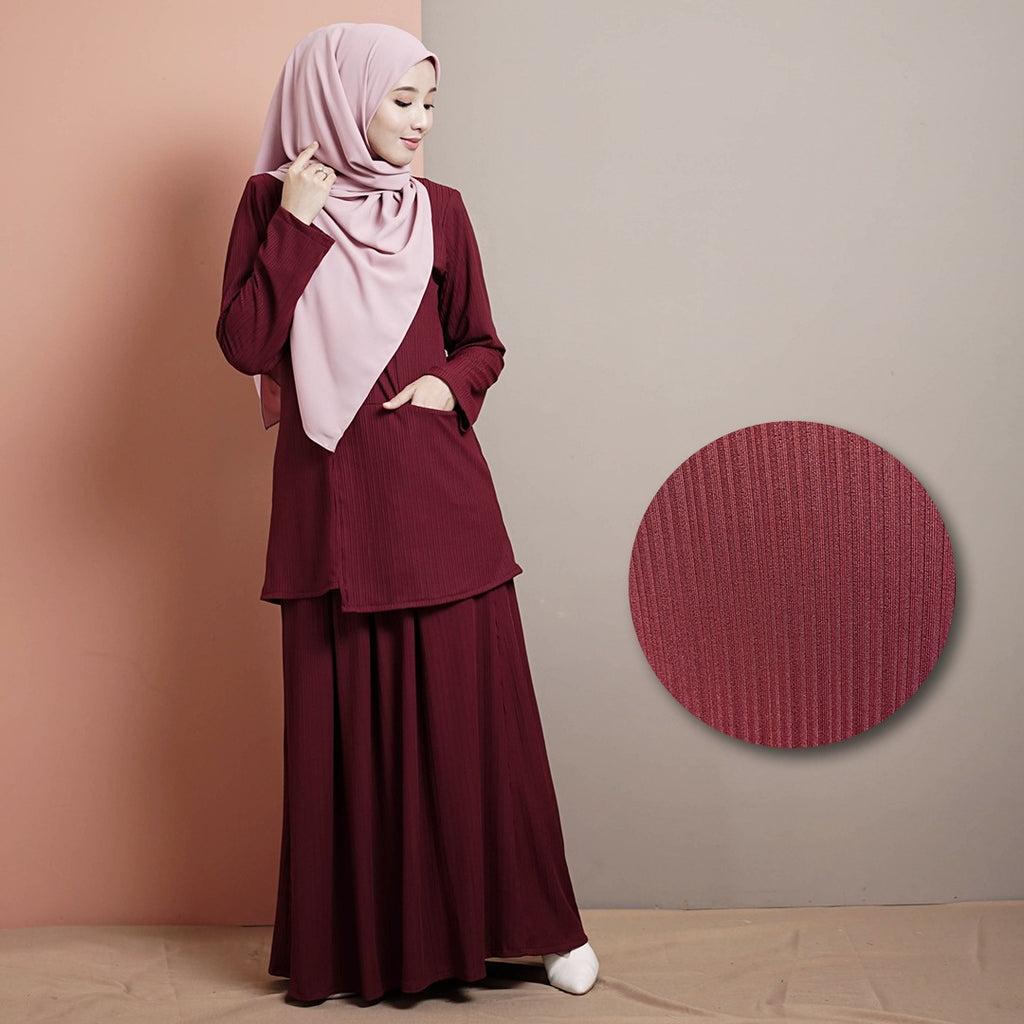 Madelyn Suit 2.0 (Maroon)