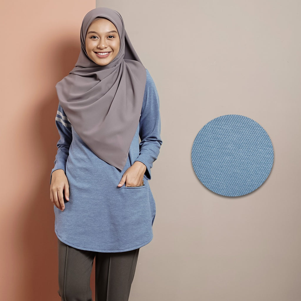 Vivy Top 2.0 (Denim)