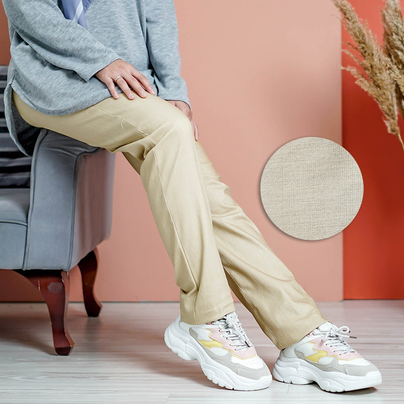 Straight Cut Pants 3.0 (Khaki)
