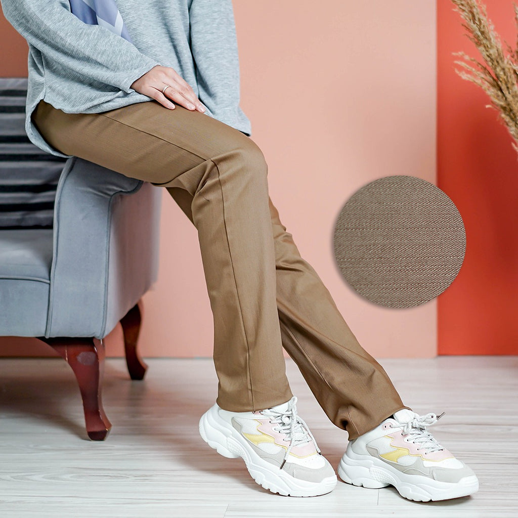 Straight Cut Pants 3.0 (Dark Elm)