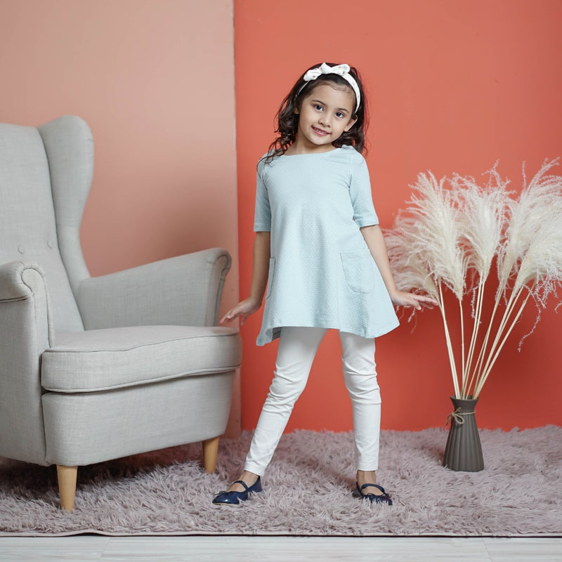 Aisyah Kids (Powder Blue)