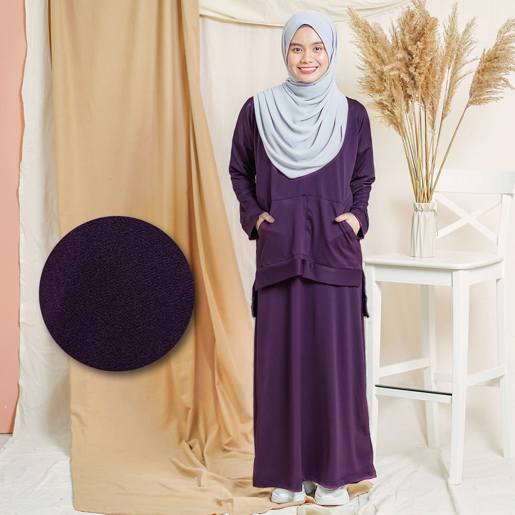 Melysa Suit (Dark Purple)