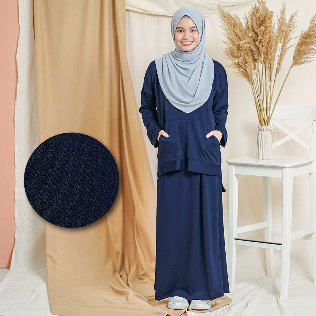 Melysa Suit (Dark Blue)
