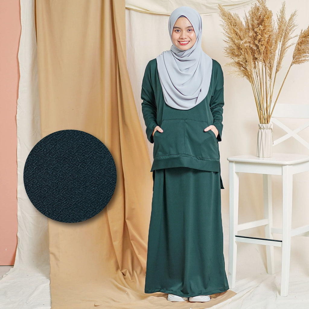 Melysa Suit (Emerald Green)