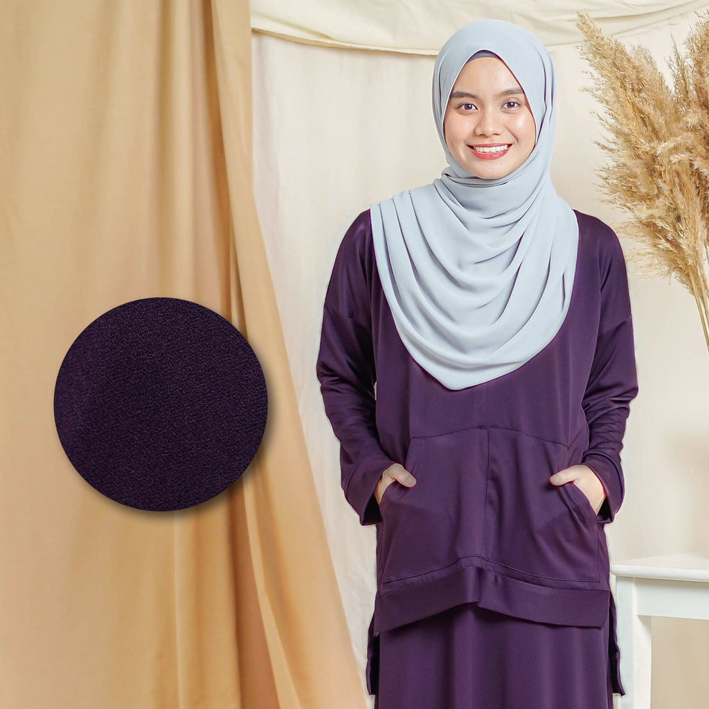 Melysa Top (Dark Purple)