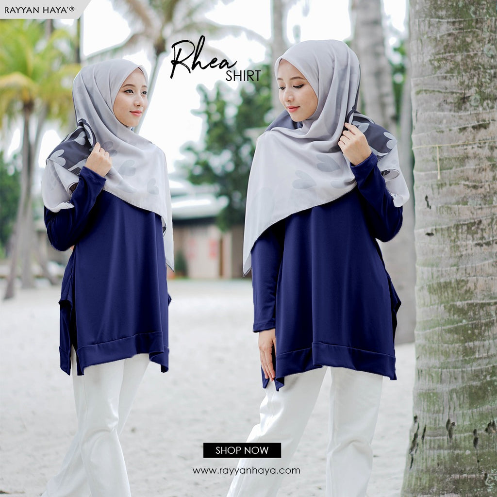Rhea Top 15 (Dark Blue)
