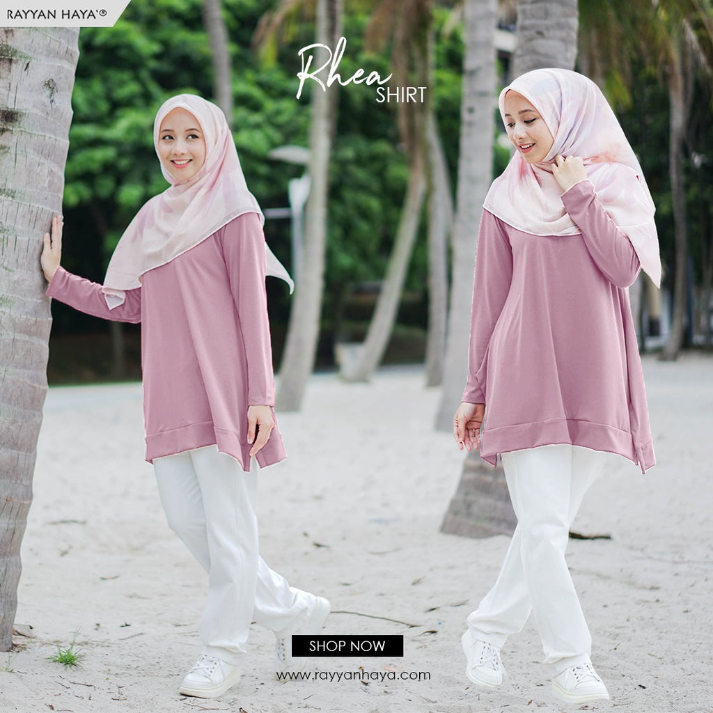 Rhea Top 15 (Dusty Pink)