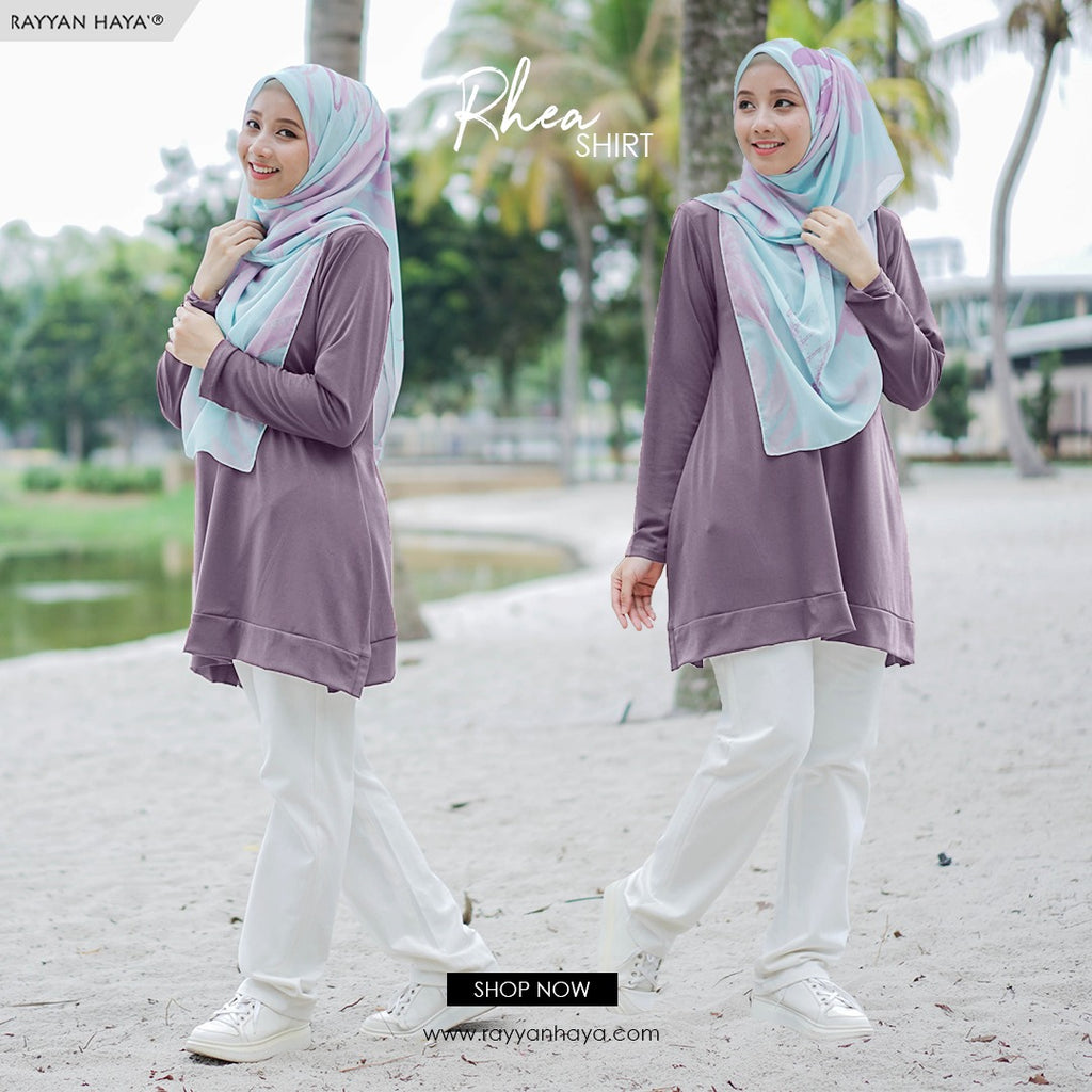 Rhea Top 15 (Dusty Purple)