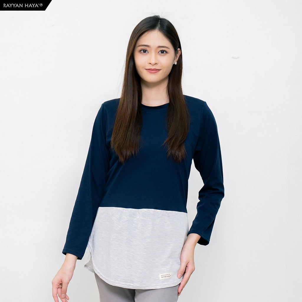 Dwi Top (Navy Blue Heather)