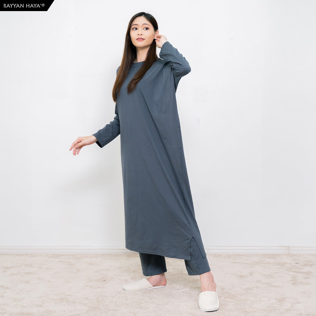 Batwing Dress (Grey)