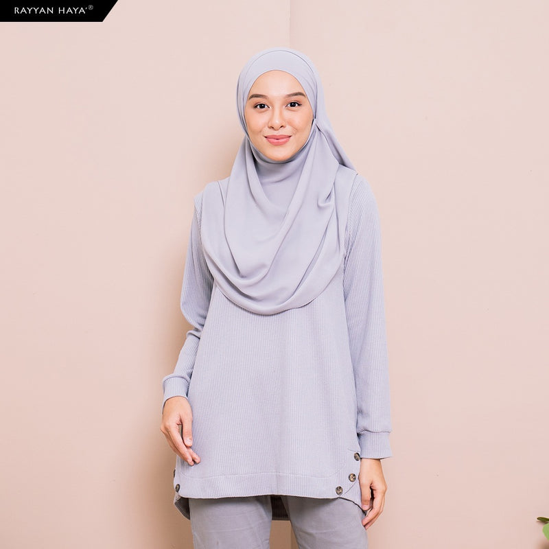 Talia Top (Icy Gray)