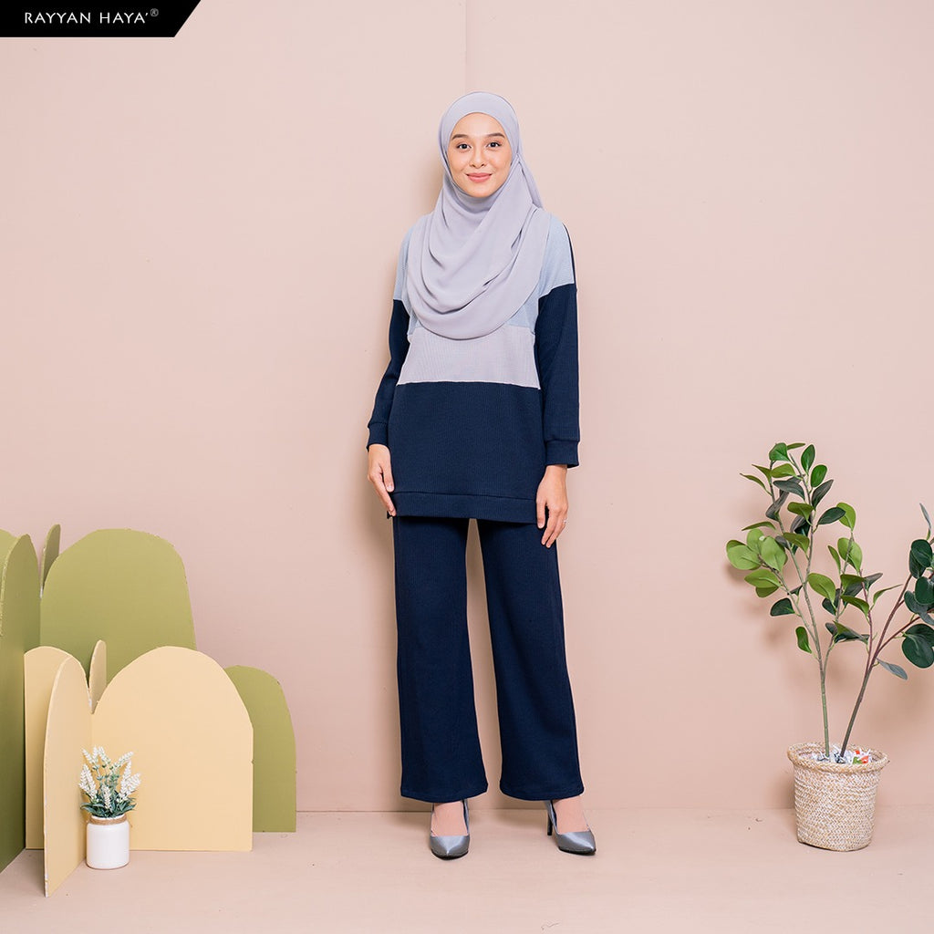 Dinah Set (Sky Navy)