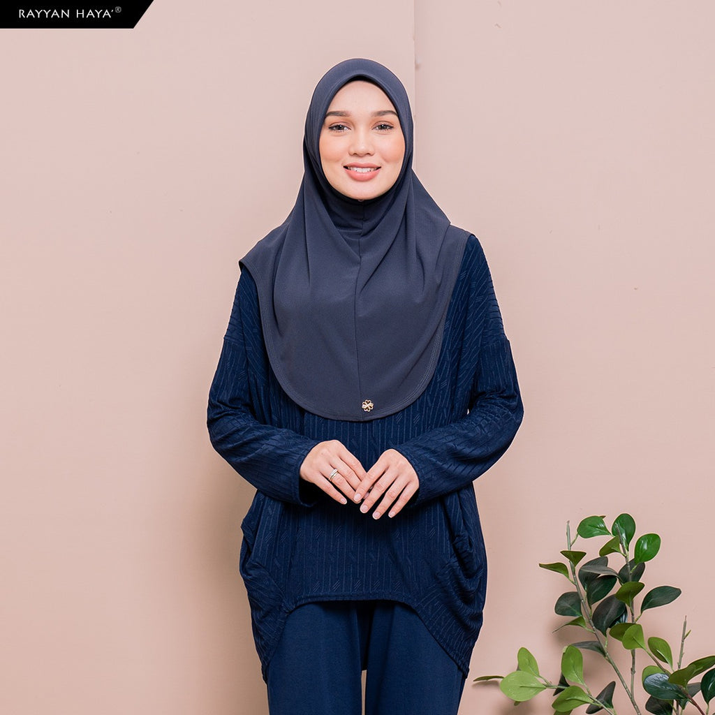 Meena Top (Navy Blue)