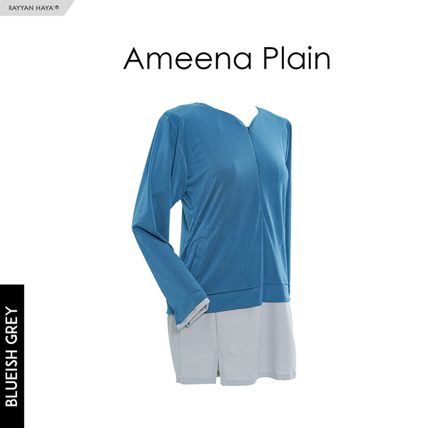 Ameena Shirt (Blueish Grey)