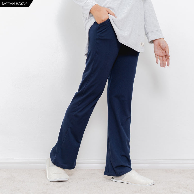 Basic Loose Pants (Dark Blue)