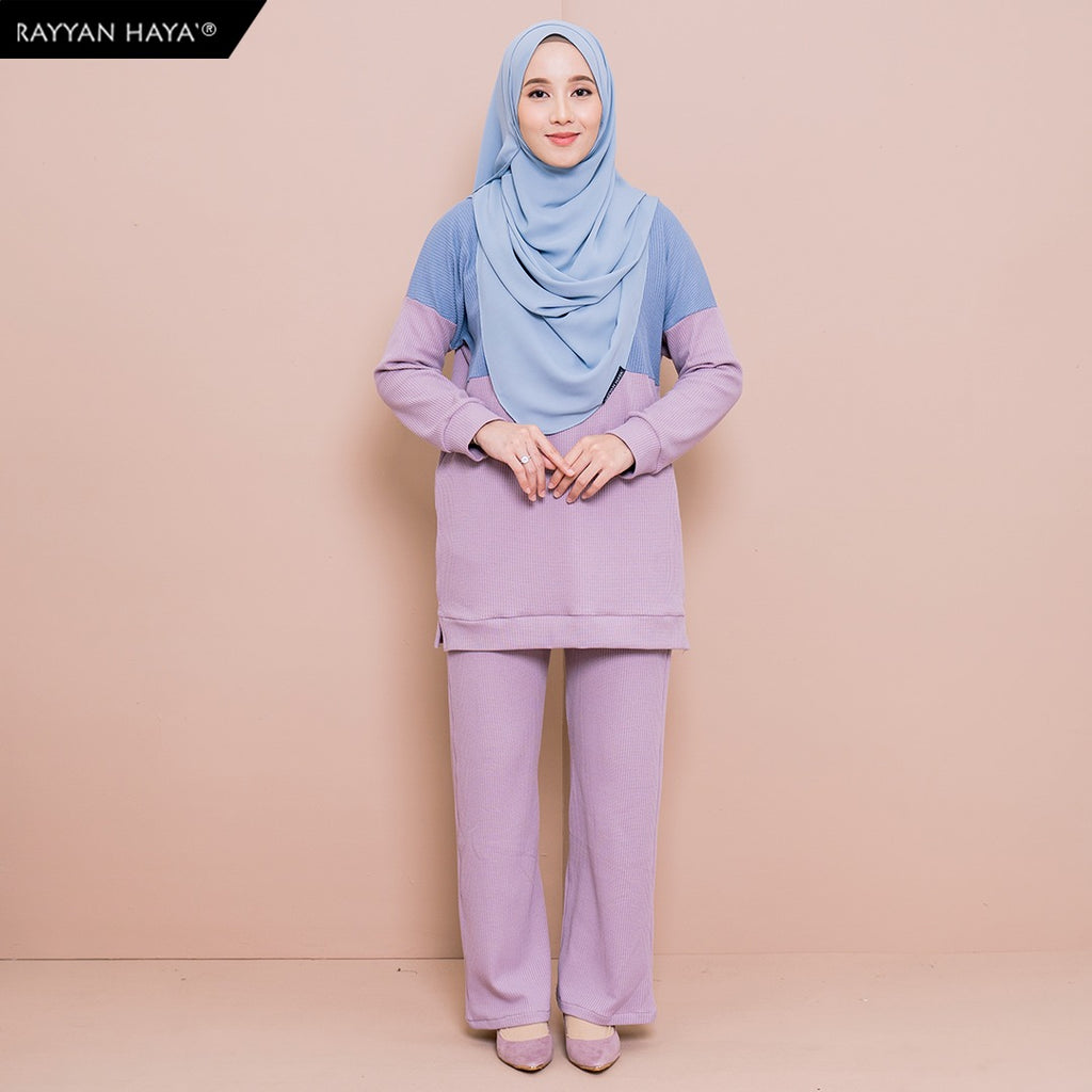 Dinah Set (Light Blueberry)
