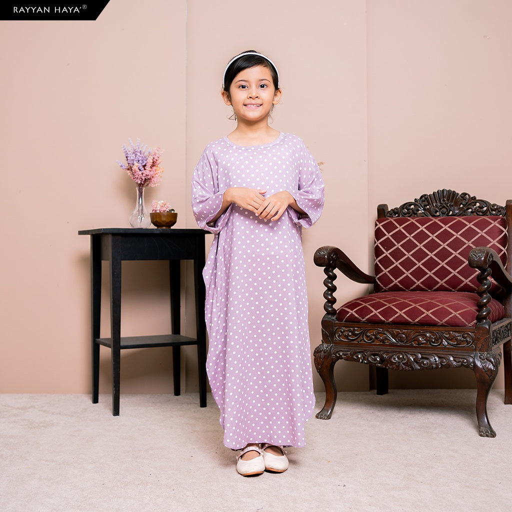 Lily Kaftan Kids (Lilac) BUY 2 FREE 1 GIFT & BUY 3 FREE 2 GIFTS
