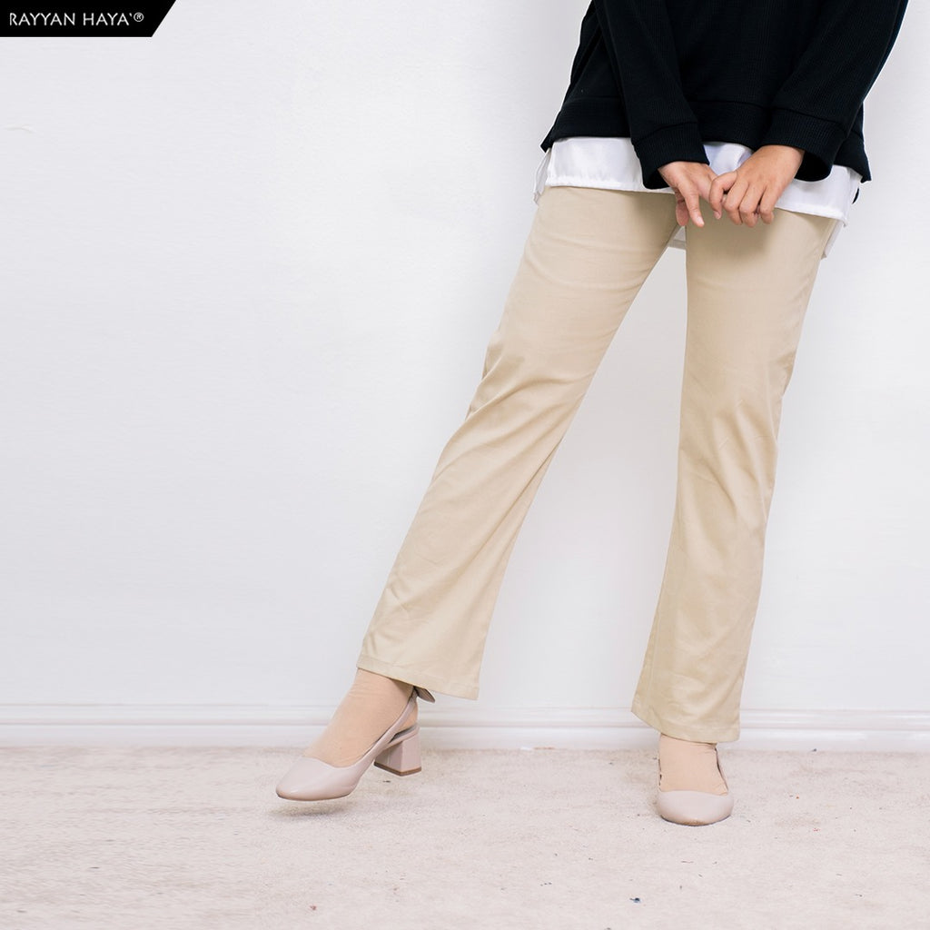 Ankle Loose Pants (Cream)
