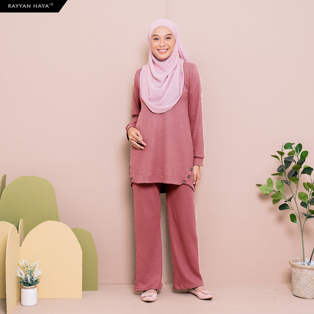 Talia Set (Dusty Pink)