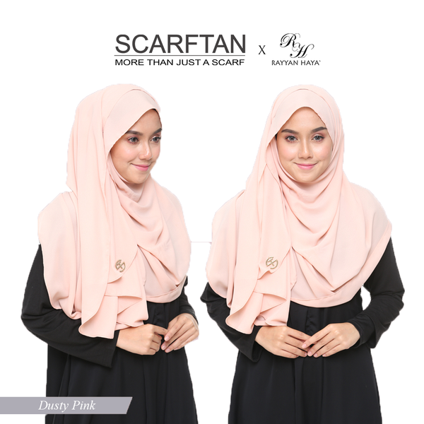 Plain Shawl (Dusty Pink)