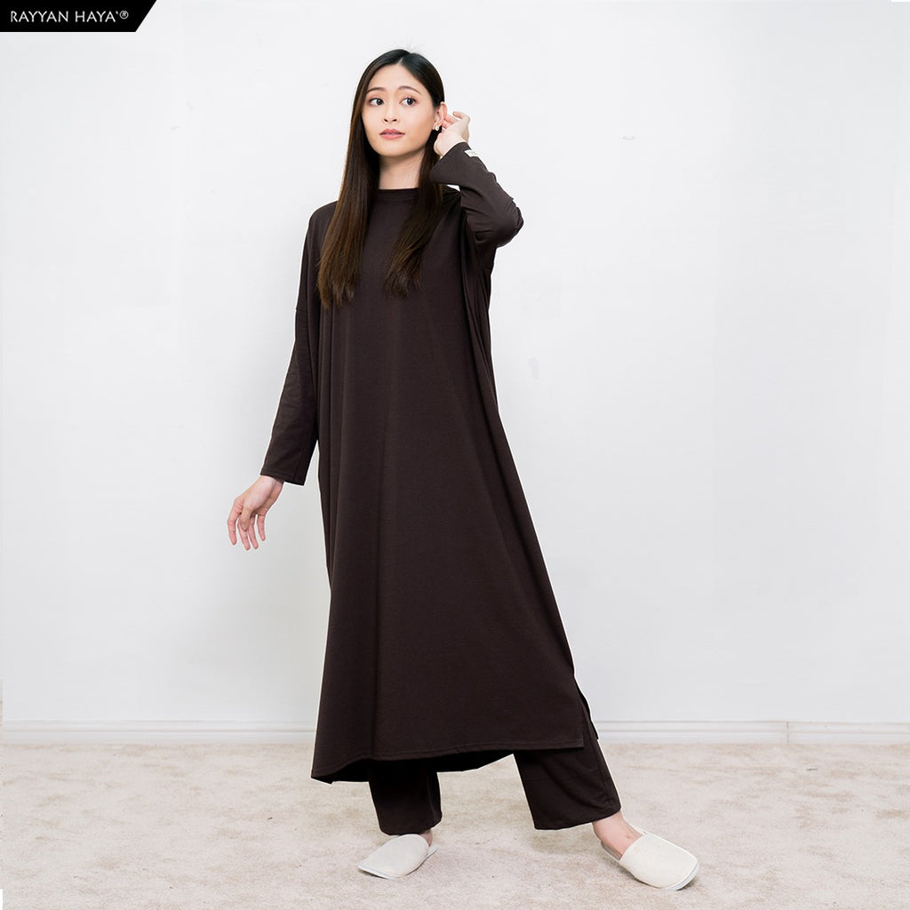 Batwing Dress (Dark Brown)
