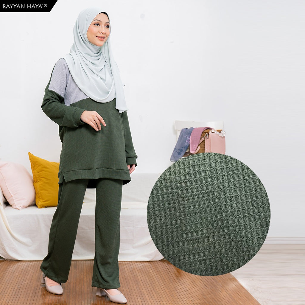 Dinah Set (Silver Moss Green)