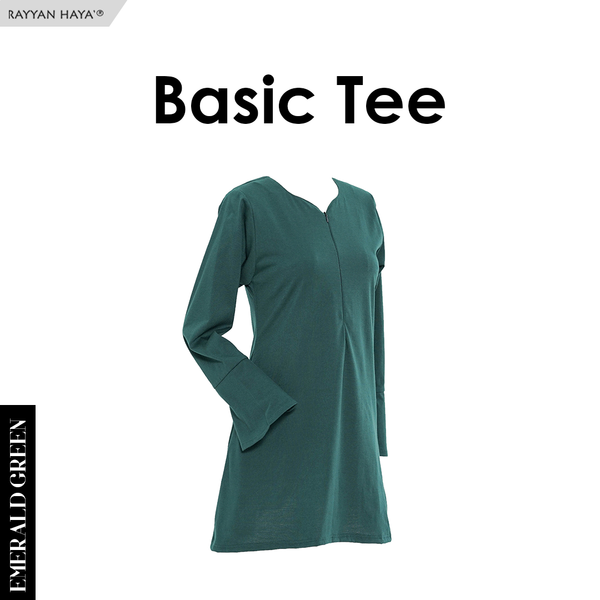 Basic Tee (Emerald green)