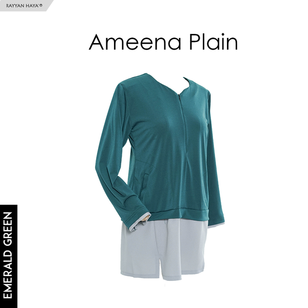 Ameena Shirt (Emerald Green)
