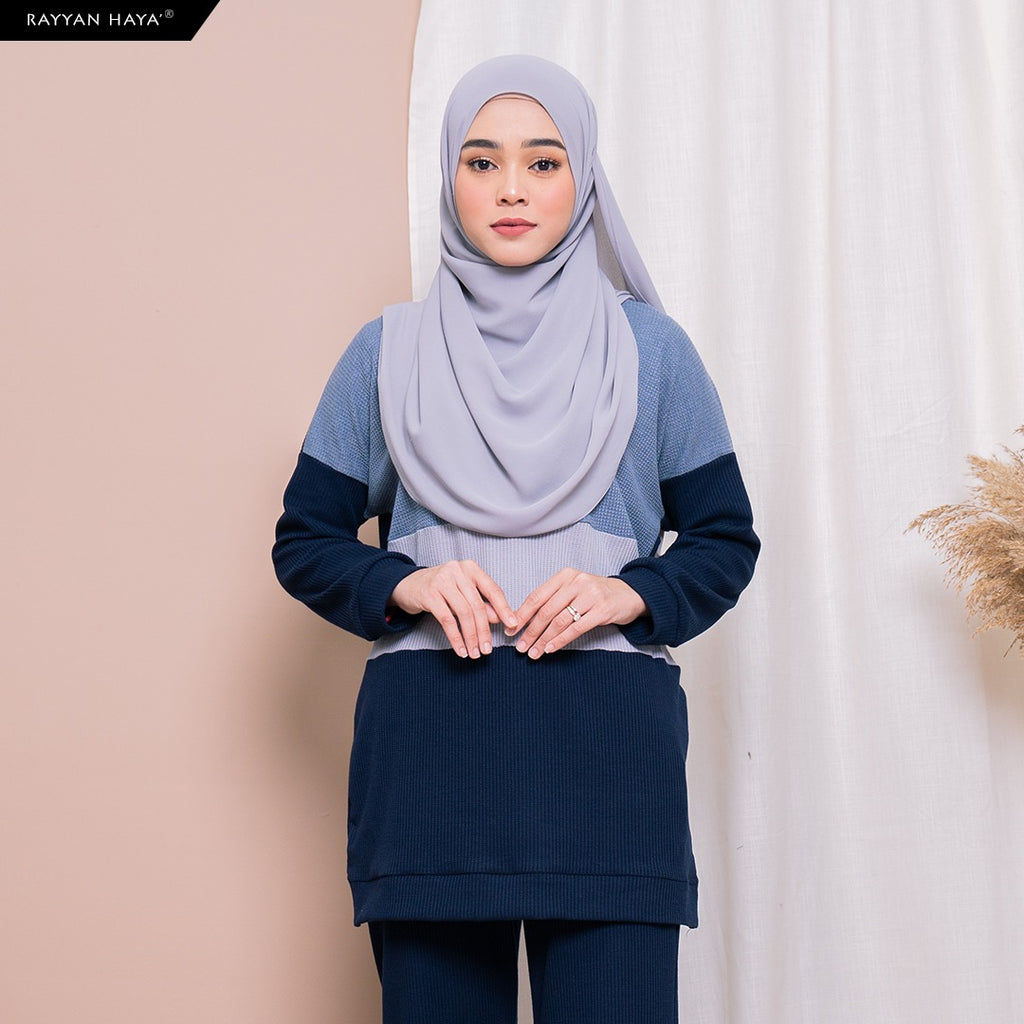 Dinah Top (Dusty Navy)