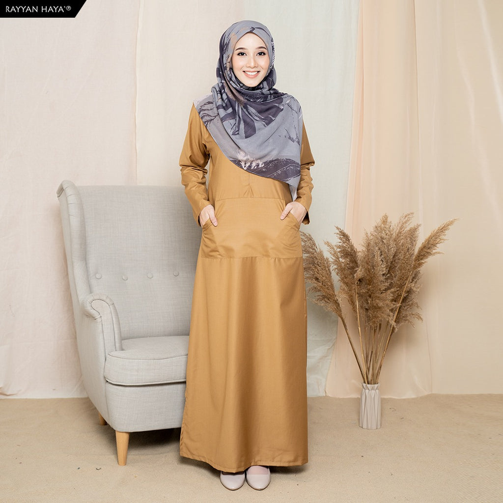 Camellia Long Top (Apricot)