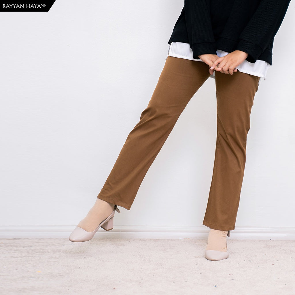 Ankle Loose Pants (Brownie)
