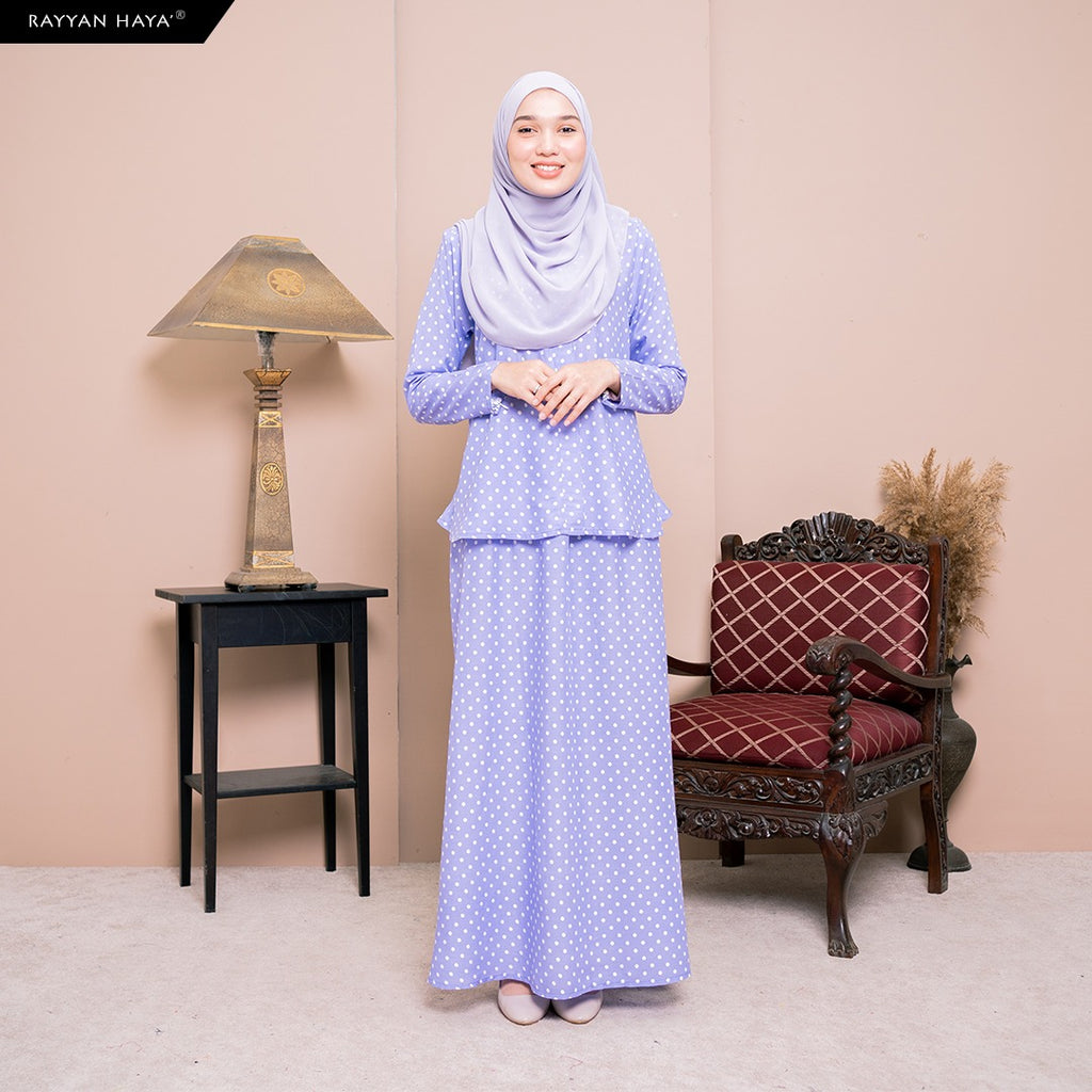 Lily Skirt Set (Bluebell) BUY 2 FREE 1 GIFT & BUY 3 FREE 2 GIFT