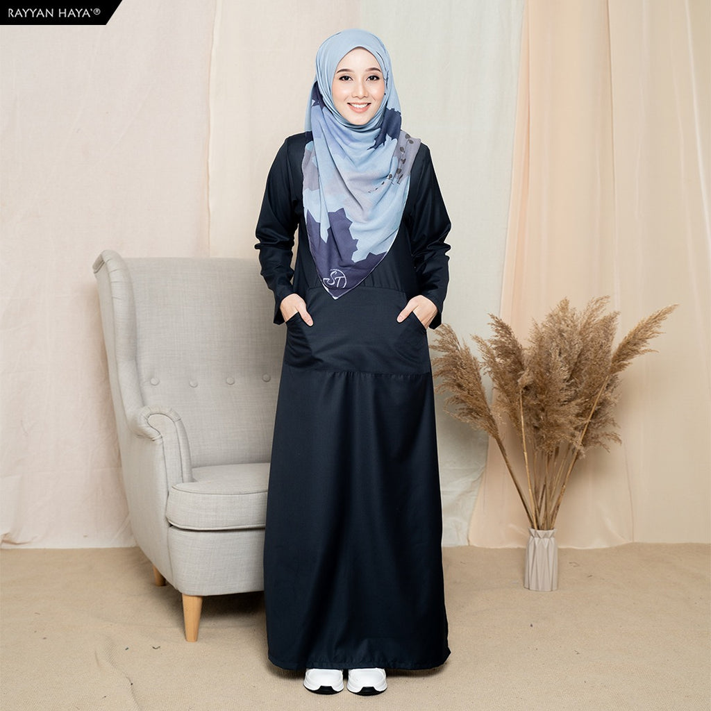 Camellia Long Top (Space Grey)