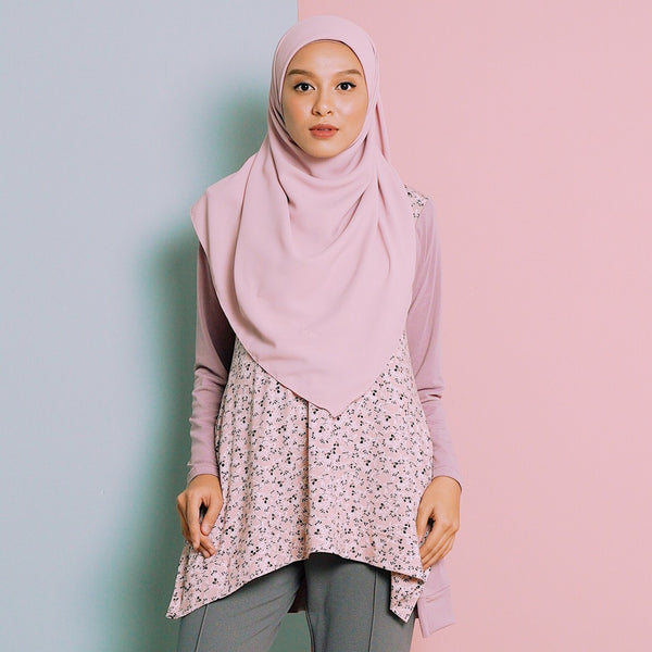 Florhea Blouse (Pink-Purple)
