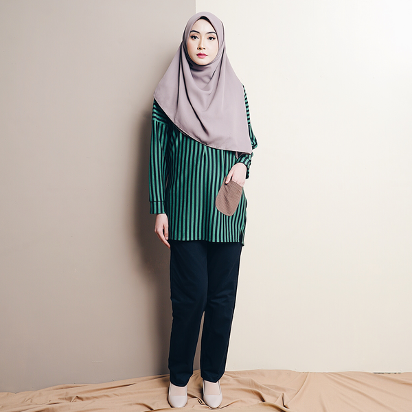 Zara Stripe (Green)