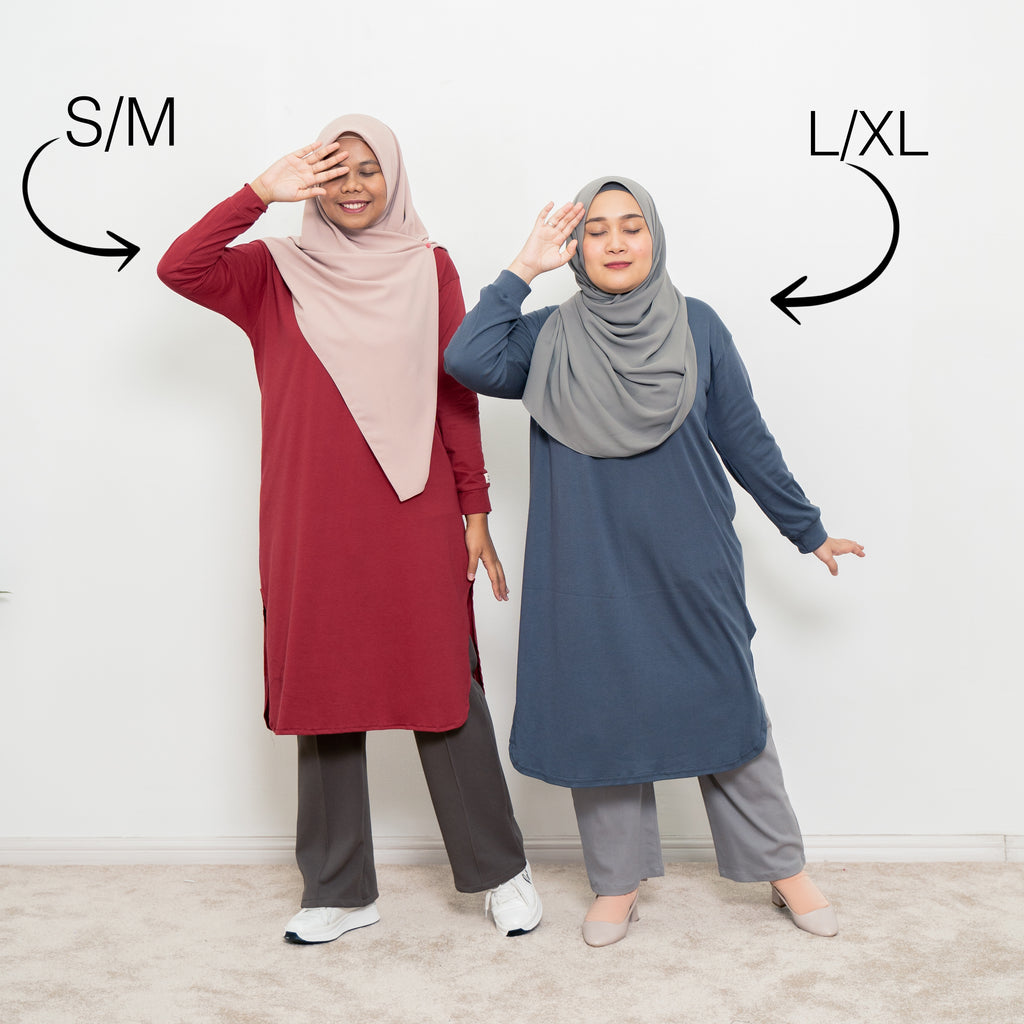 Neyra Long Top (Heather)